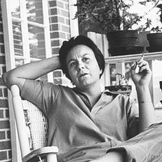 Nelle Harper Lee, an author that probably doesn't get as much credit as she should for her contribution to the movement of civil rights.. Her wisdom and total understanding of the days and times is unmatched.