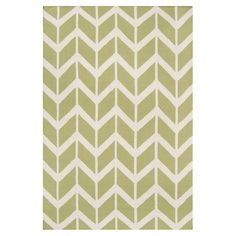 Anchor your living room seating group or define space in the den with this artfully hand-woven wool rug, featuring a chevron-inspired motif for eye-catching ...
