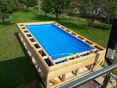 ✔ 49 most popular backyard ideas with pool design for 2019 26 in 2019 Above Ground Swimming Pools, Swimming Pools Backyard, Pool Landscaping, In Ground Pools, Piscina Intex, Backyard Pool Designs, Small Backyard Pools, Backyard Ideas, Sloped Backyard