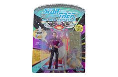 Playmates Toys Star Trek The Next Generation Tng Commander William T. Riker... #PlaymatesToys
