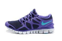 Womens Nike Free 3.0 V3 Purple Black Running Shoes