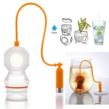 Deep Diver Tea Infuser Loose Leaf Strainer Herbal Spice Silicone Diffuser
