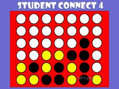 Student Connect 4 - Romeo & Juliet | Educational games, Learning and ...
