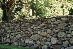 mur en pierres seche