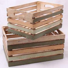 Přepravka dřevěná menší