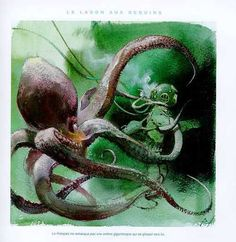 Octopus, Animals, Drawing Drawing, Animales, Animaux, Animal, Calamari, Animais, Diving Regulator