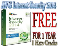 AVG Internet Security 2014 Free Download With Legal 1 Year Serial Key
