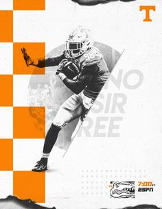 Tennessee Football 2018 on Behance Sport Shirt Design, Sports Graphic Design, Sport Flyer, Tennessee Football, Nfl Football, Football Program, Banners, Promo Flyer, Football Design