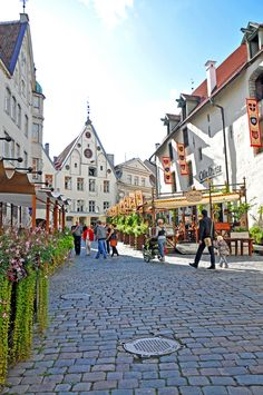 Old town in Tallinn, Estonia. Image Credit: Dennis Jarvis