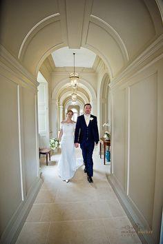 Bride and groom walking the hallway at Shilstone House in Devon Wedding Venues Uk, Wedding Reception, Wedding Day, London Photography, Wedding Photography, Church Ceremony, Relaxed Wedding, Friends In Love, Devon