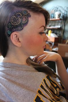 feminine head tattoos - Google Search