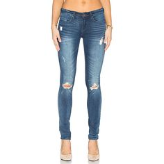 Mango distressed skinny jeans