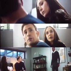 W: vision !? We talked about this .. V: ..uh well the door was open so I just assumed ....?<<<LOL! I loved this scene!