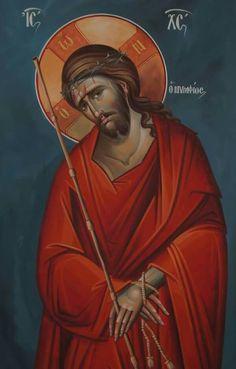 Christ the Bridegroom. Religious Images, Religious Icons, Religious Art, Byzantine Icons, Byzantine Art, Jesus Face, Jesus Pictures, Catholic Art, Art Icon