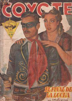 El final de la lucha. Ed. Queromon, 1949 (Col. El Coyote ; 14)