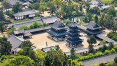 Horyu-ji, Ikoma, Nara, Japan