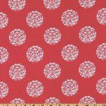 Lovely coral fabric