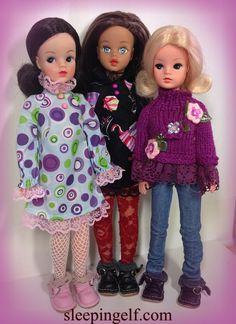Emma (TG ) Esme (SUsi) and Minne ( skinny Funtime )