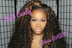 BEST CURLY HAIR EVER/ HER HAIR COMPANY