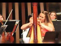 Saint Saens Morceau de Concert for Harp and Orchestra