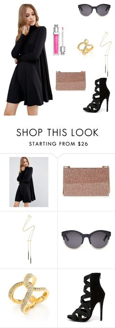 """Sem título #9"" by marcelly-bonin-montan ❤ liked on Polyvore featuring beauty, ASOS, STELLA McCARTNEY, Isabel Marant, Christian Dior, Michael Kors and Liliana"