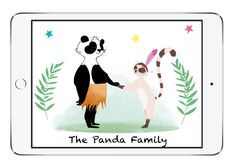 Surprise panda family #staytuned