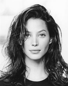 I've always loved Christy Turlington's face.