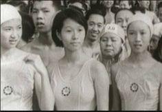 1960's cross harbour women swimmers HK