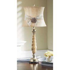 Carmel Decor - Candlestick Table Lamp @Carmel Decor #lighting #decor #decorate