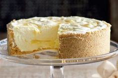 Lemon Ripple Cheesecake Recipe - Taste.com.au SOUNDS ABSOLUTELY DELICIOUS!!