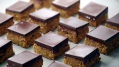Peanut butter squares - have made these and they are addictive.