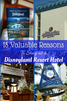 18 Valuable Reasons To Stay at a Disneyland Resort Hotel – The benefits to an on-property stay during your Disneyland vacation. Disneyland Hotel, Disney Resorts, Disneyland Secrets, Disney Destinations, Disneyland California, Disney Vacations, Disney Trips, Hotels And Resorts, Disney Parks