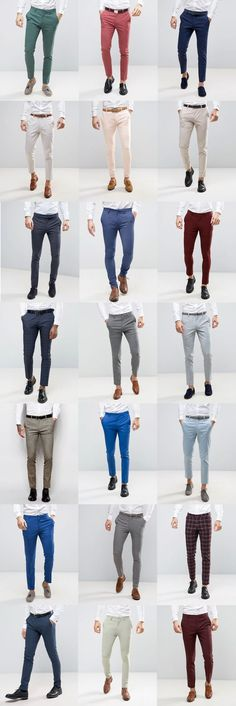 21 ASOS Wedding skinny suit pants for guys