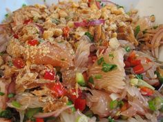 Easy Pomelo Salad