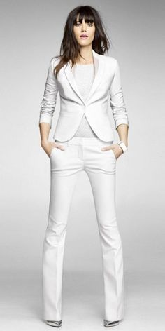 460162e85c01e 30 Best White Pant Suit images in 2019 | White Pants, White suits ...