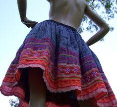 Hmong inspired skirt   http://www.etsy.com/listing/158660706/hmong-batik-skirt-urban-high-rise-hippie