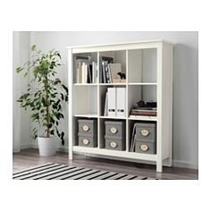 IKEA - TOMNÄS, Shelving unit, white, , Keep your favorite items visible on the open shelves, and hide away everything else in boxes or baskets.