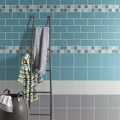 Faïence mur bleu atoll mat x cm, Loft Memory Games For Kids, Bleu Turquoise, Fun Snacks For Kids, Toddler Preschool, Bathroom Inspiration, Bathroom Ideas, Atoll, Leroy Merlin, Diet Meals