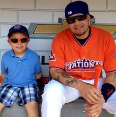 Yadier and his son