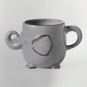 Gray Elephant Mug