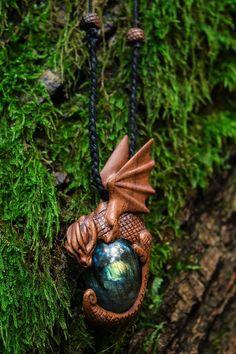 Labradorite Dragon  Handcarved  Free Delivery  Dragon