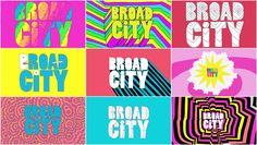 """Mike Perry & Julie Verardi - """"Broad City"""" animated title sequences. (Videos + interview at the link.)"""