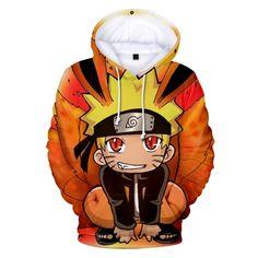 cc4722a7187b 44 Best Naruto Hoodie Sweatshirt Anime 3D Print images in 2019