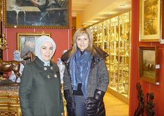 Shopaholic: Turkey dictator Recep Erdogan's wife Emine (left) claims to live a 'humble and modest' life with strict Muslim values, whiling away the hours in palace kitchen fermenting apples and turning them into vinegar