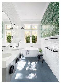 Bathroom Renos, Bathroom Layout, Bathroom Interior, Modern Bathroom, Bathroom Ideas, Minimalist Bathroom, Contemporary Bathrooms, Bathroom Designs, Bathroom Faucets