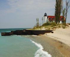 Point Betsie Lighthouse, Frankfort, MI, near Traverse City