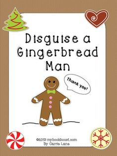 The gingerbread man is tired of running, running, running the entire month of December. Help disguise him!