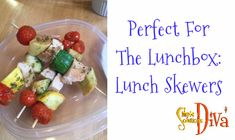 Perfect For The Lunchbox: Lunch Skewers Cooking With Kids, Skewers, Food Videos, Food To Make, Simple Recipes, Lunch Box, Easy Meals, Tasty, Make It Yourself