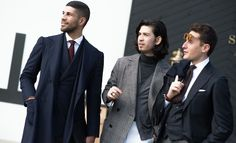 samanamel:Another brilliant photo by GQ Magazine. Khaled, Saman and Alessandro together at the fair.