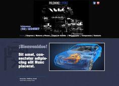 Maqueta de Sitio Web para Motores Palomino